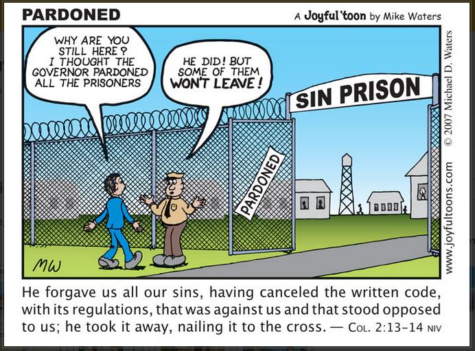21 Pardoned