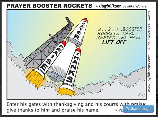 82 Prayer Booster Rockets