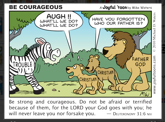 143 Be Courageous