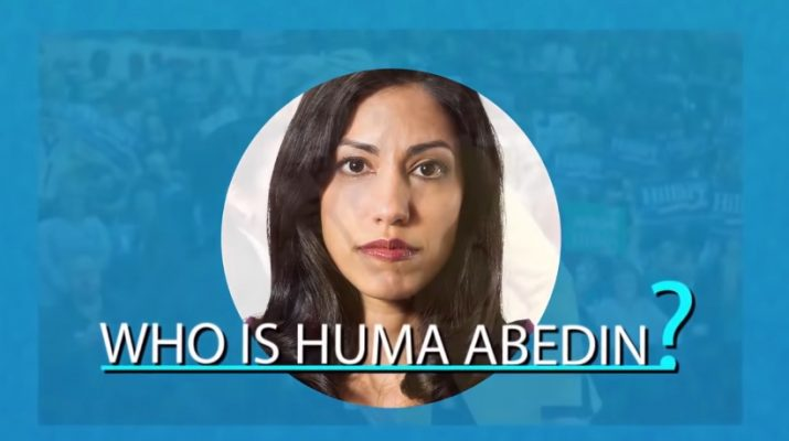 Was Huma Abedin the ultimate spy...