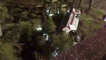 DEVELOPING: 1 Person Dead, Several Injured After Bus Plunges into Ravine in Ala.