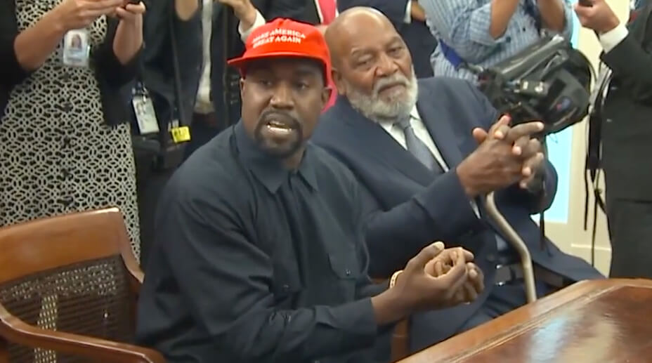 Kanye Makes Predictably Bizarre, but Charming Speech at White House