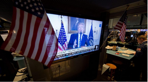 The stock market took a massive dive today – here's how Trump explained what happened