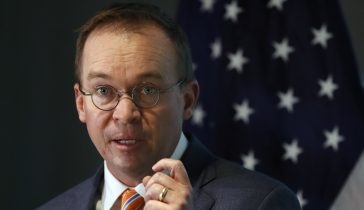 Pres. Trump names Mick Mulvaney as acting White House chief of staff