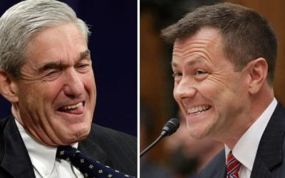 "Mueller Scrubbed Messages From Peter Strzok's iPhone; OIG Recovers 19,000 New ""FBI Lovebird"" Texts"