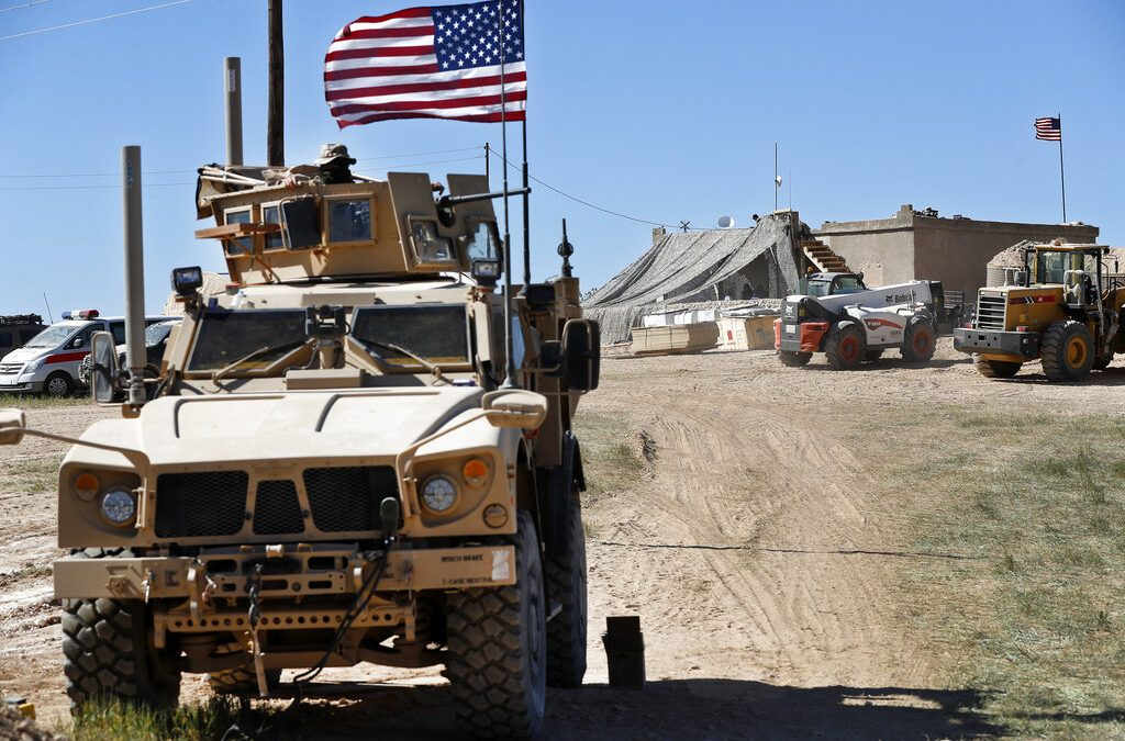 U.S. troops begin withdrawing from Syria