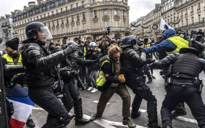 French Conservative Minister Calls For Police To Shoot And Kill Yellow Vest Protestors