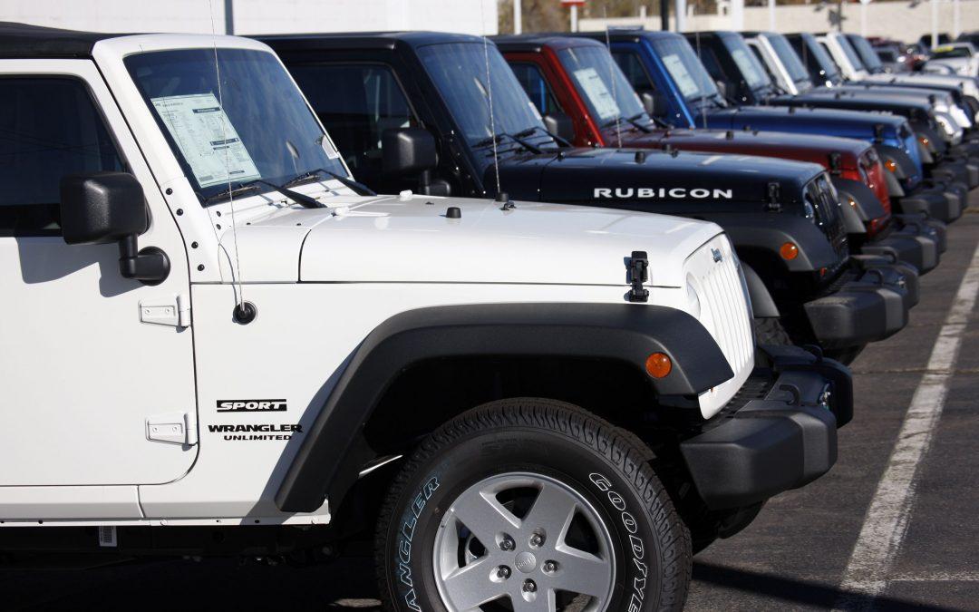 Fiat Chrysler recalls 1.6M vehicles to fix Takata air bags