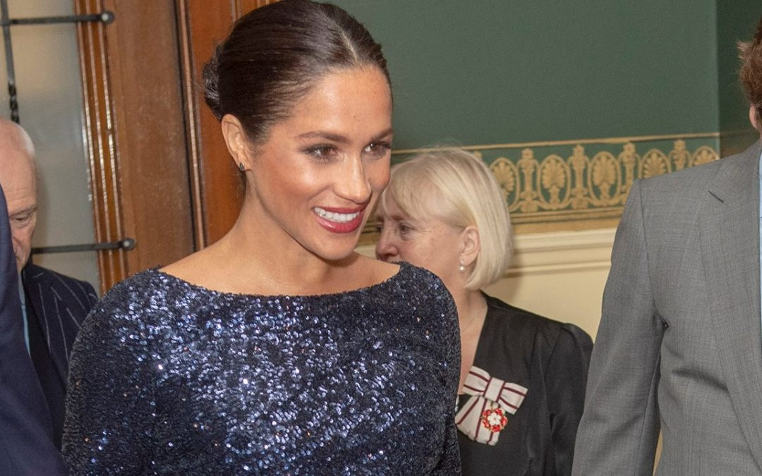 Meghan Markle breaks royal protocol with dark pedicure and no tights