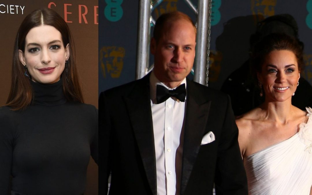 Anne Hathaway says she learned this parenting tip from Prince William, Kate Middleton
