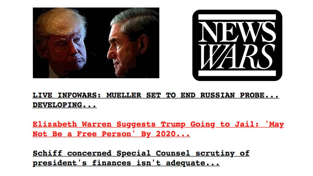 Mueller Dragnet To End In March, Dems To Launch Non-Russia Indictments Against Trump & Co