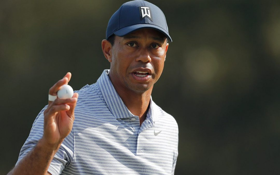 Tiger Woods cards highest score ever at 17, makes cut at Players