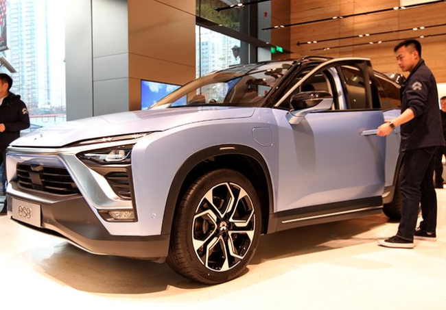 China's NIO Investigating Second Electric Car To Catch Fire In Weeks