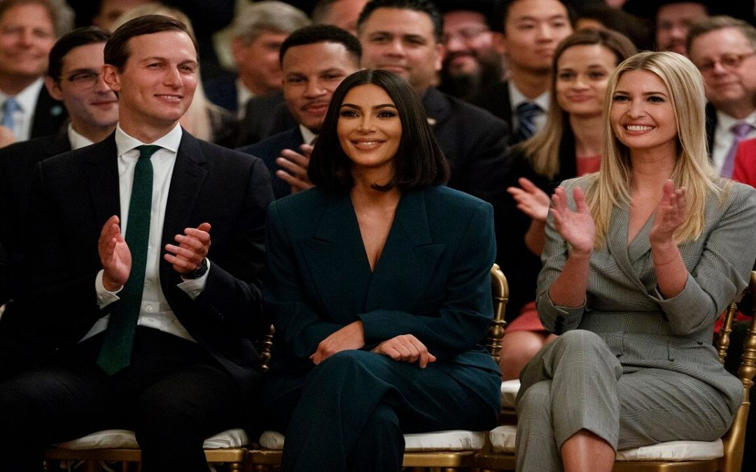 Kim Kardashian West thanks Ivanka Trump for support on criminal justice reform