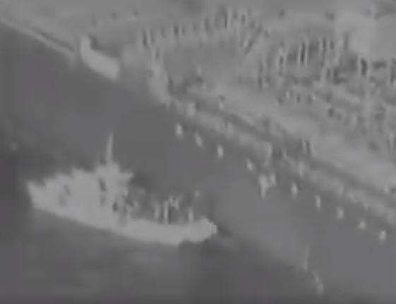 "US Releases ""Smoking Gun"" Video Of Iran's Navy Handling Mine On Tanker Hull"