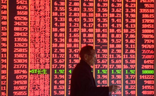 """Sea Of Red"": Global Stocks Tumble After Dismal Chinese Data, Broadcom Bust"