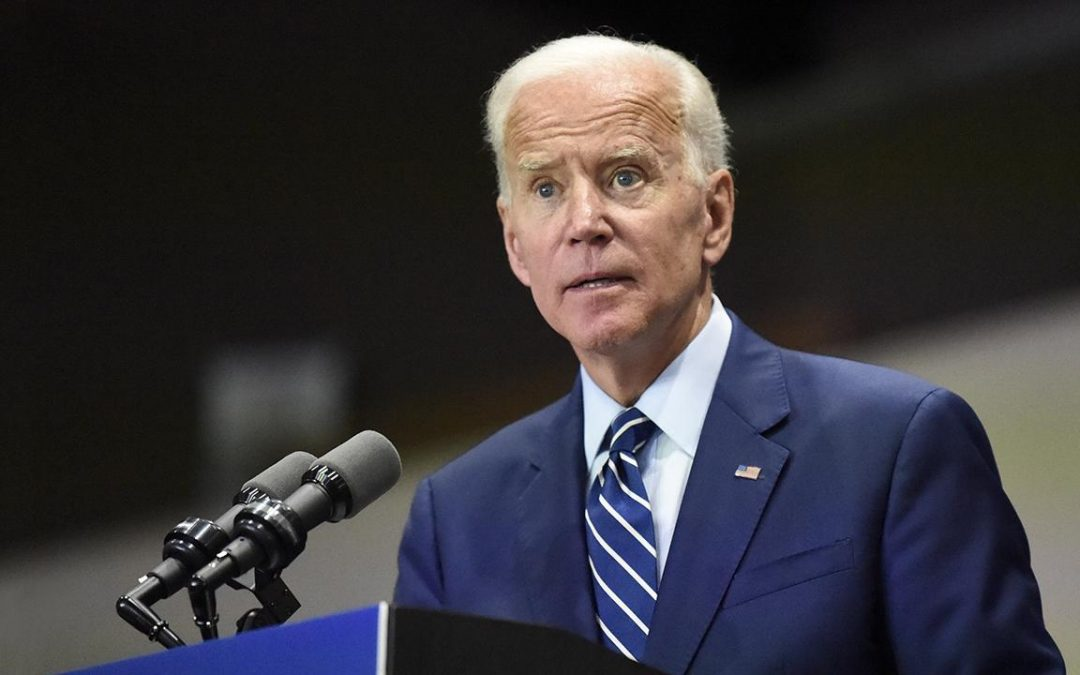 Biden rips 'chest-thumping' Trump as he spells out his foreign policy vision