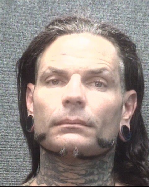 WWE superstar Jeff Hardy arrested in South Carolina, charged with public intoxication