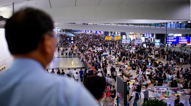 Flights Resume At Hong Kong Airport After 2 Days Of Chaos