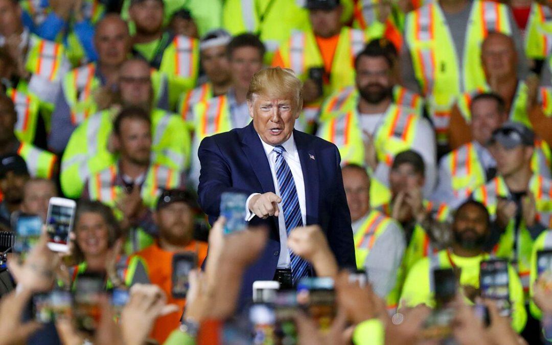 Trump promotes Pennsylvania plant built to turn natural gas deposits into plastics