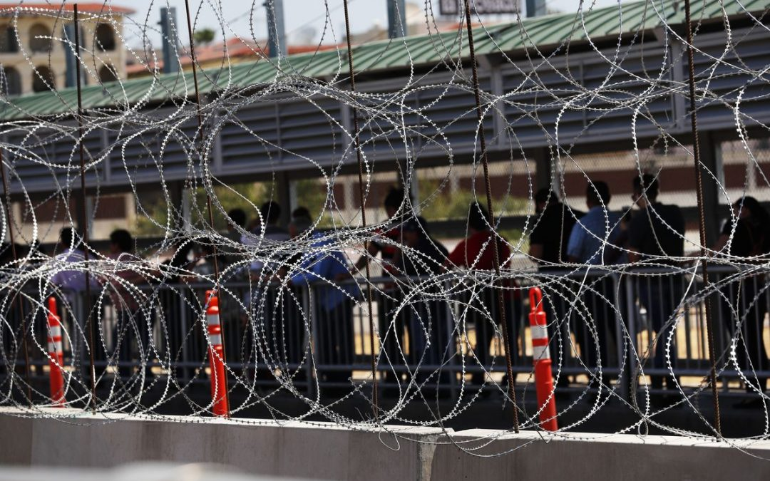 Report: Trump admin. aims to shift money to ICE amid border crisis