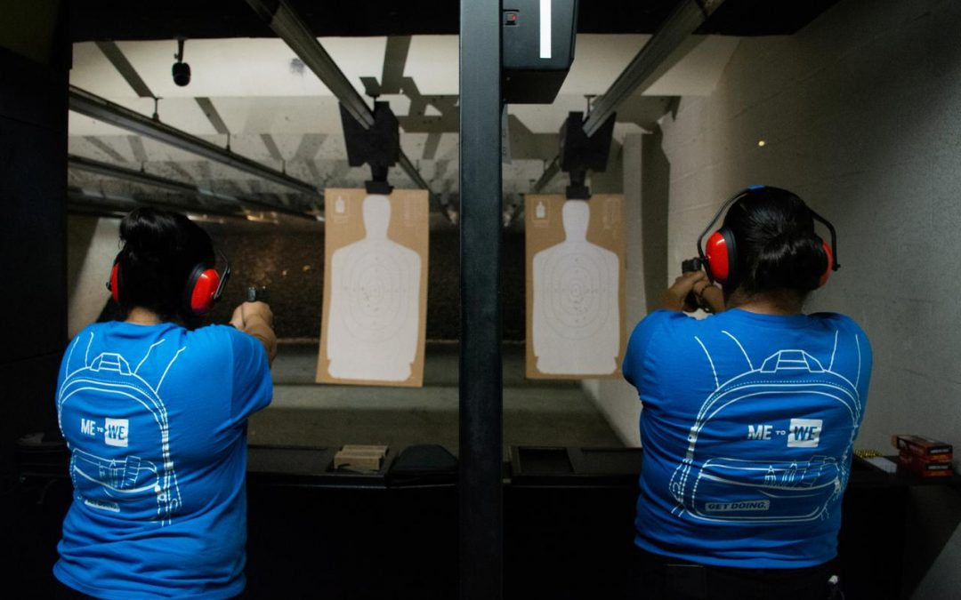 El Paso residents crowd gun range after mass shooting, majority Latino