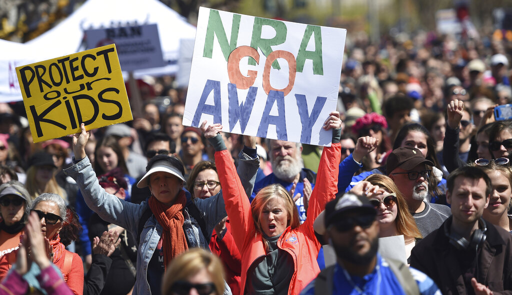 NRA sues San Francisco for resolution which labels the group 'domestic terrorist organization'