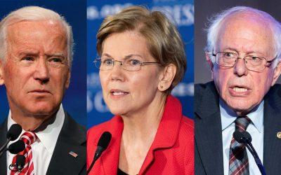 Warren takes narrow lead over Biden in new Iowa poll, Sanders slips to third