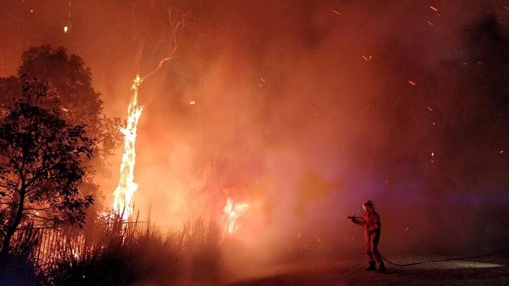 Australia wildfires raging like 'flamethrower' devour homes, at least 400 evacuated
