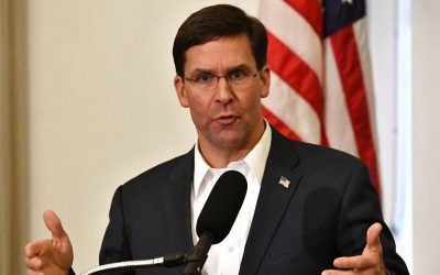 Defense Secretary Esper: U.S. is fully committed to helping Afghans secure peace