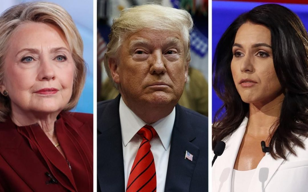 Trump bashes Clinton's 'Russian asset' suggestion against Gabbard: 'She's crazy'