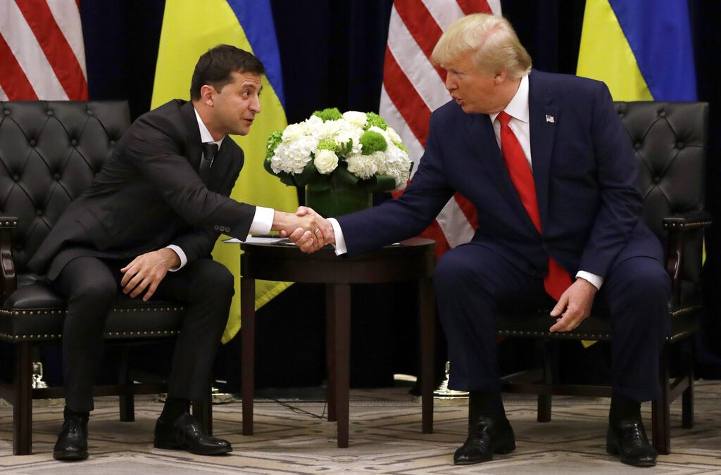 Bloomberg: State Department gave aid to Ukraine days before President Trump lifted freeze