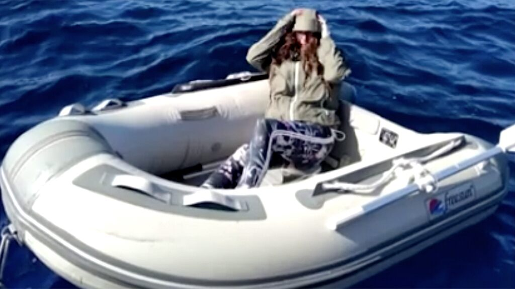 Tourist rescued after floating in Aegean Sea for two days