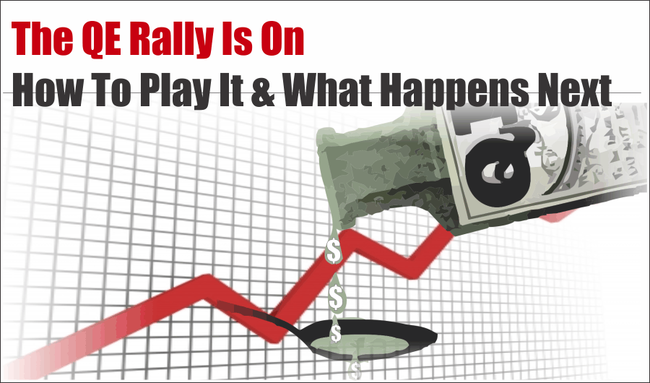 """The """"QE, Not QE"""" Rally Is On… What Happens Next?"""
