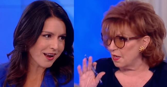 """Are You Calling Me Stupid?"" Gabbard Rips Joy Behar's 'Useful Idiot' Smear On The View"