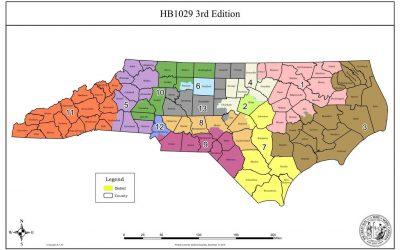 North Carolina passes new congressional maps