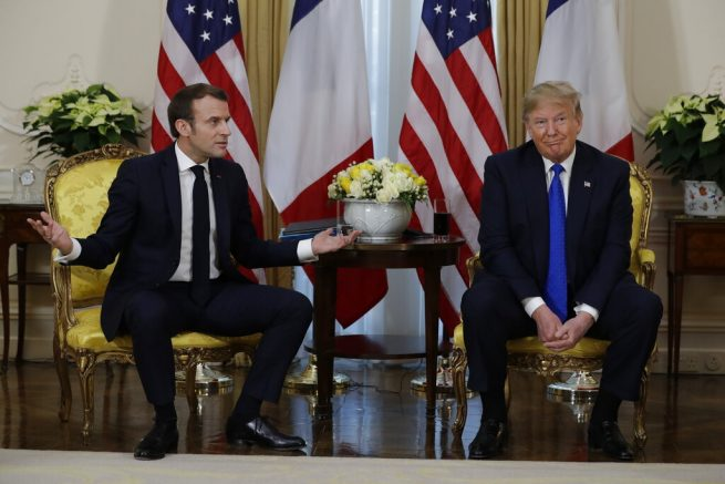 President Trump slams French President Macron over comments on NATO