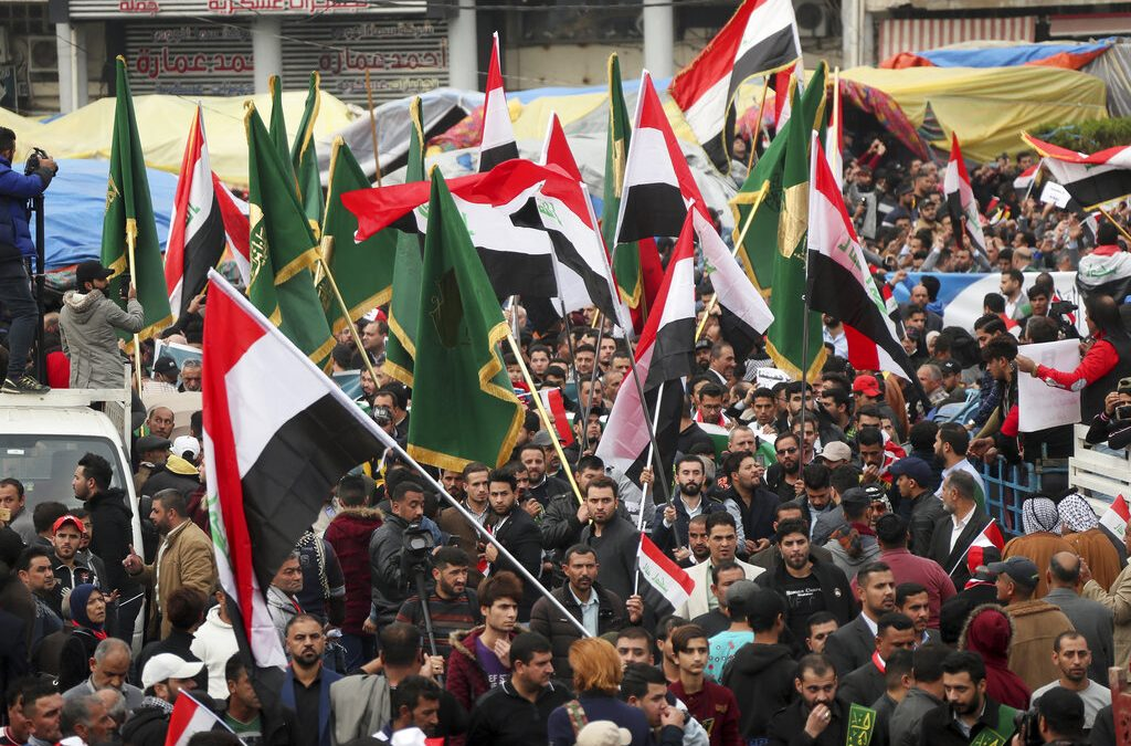 U.S. imposes sanctions on Iraq amid protests