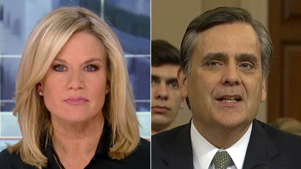 Martha MacCallum: Turley had a 'powerful moment' in his impeachment hearing testimony