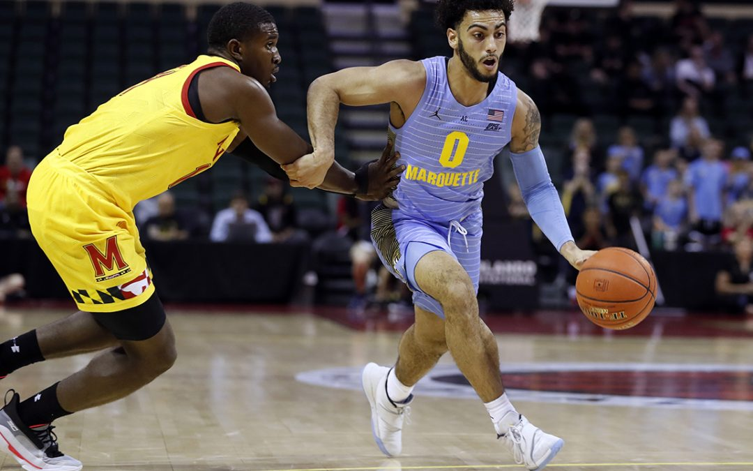 Undersized Marquette star Howard finding ways to dominate