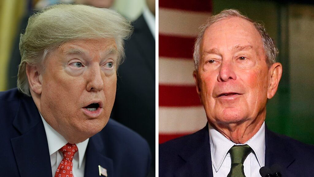 Trump rips 'Mini Mike' Bloomberg, NY Times after campaign bans 'third rate' Bloomberg News from campaign events