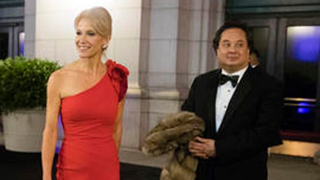 George Conway jabs at wife Kellyanne on Twitter while knocking her 'boss' Trump