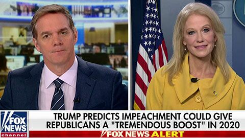 Conway: No 'brighter contrast' than Dems holding impeachment hearing with Trump at NATO summit
