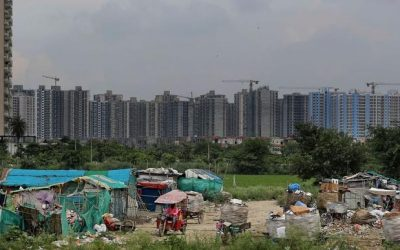 "India's Half-Finished ""Ghost Towns"" Leave Middle Class In Crisis"