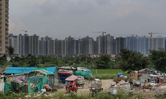 """India's Half-Finished """"Ghost Towns"""" Leave Middle Class In Crisis"""