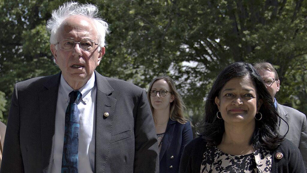 Rep. Pramila Jayapal endorses Bernie Sanders for president