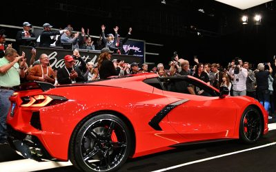 First 2020 Chevrolet Corvette Stingray auctioned for $3 million