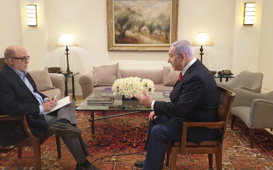 Netanyahu blasts rival Benny Gantz, cites two advisers who likened Trump to Hitler