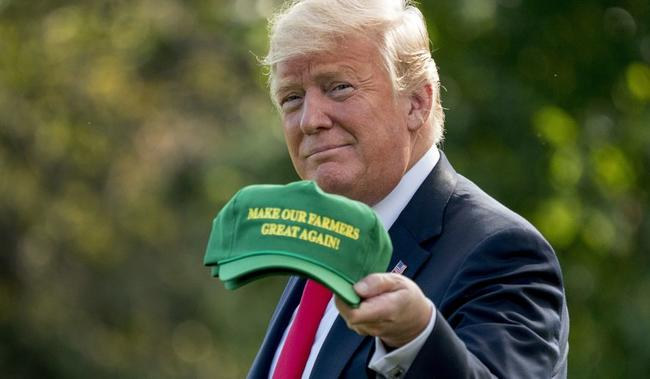"Trump Hints At 3rd Ag Bailout, Promises Farmers ""Additional Aid"" Until Trade Deals ""Fully Kick In"""