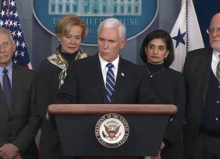 Watch: Coronavirus Task Force Holds White House Press Briefing – 3/27/20